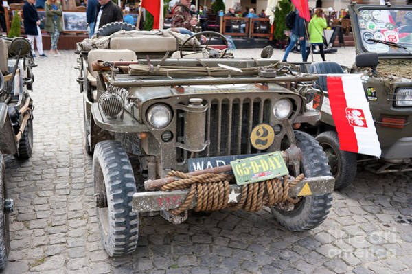 Wall Art - Photograph - Willys Jeep At Rally Vi Military Vehicles by Arletta Cwalina