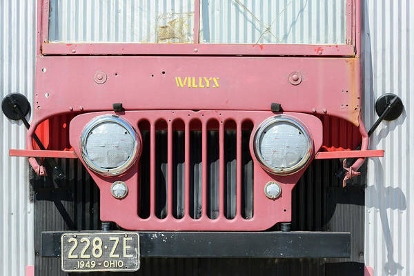 Photograph - D3g54 Willys Jeep by Ohio Stock Photography