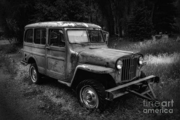 Willys Jeep Station Wagon Art Print