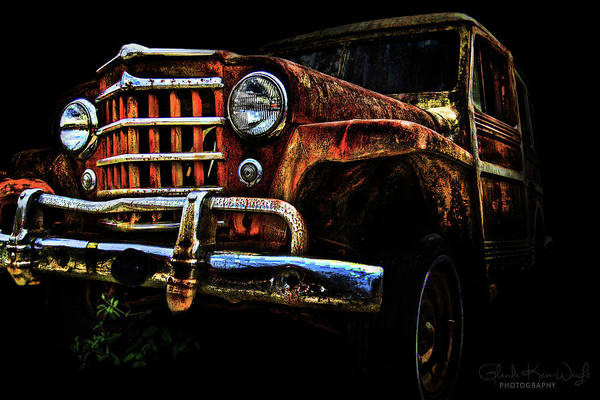 Photograph - Willy's Station Wagon by Glenda Wright