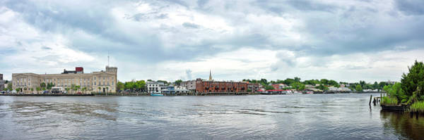 Wall Art - Photograph - Wilmington North Carolina From The Cape Fear River by Brendan Reals
