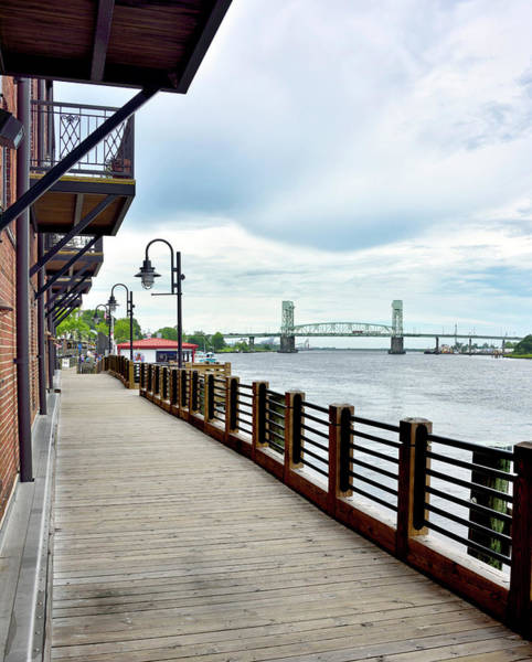 Wall Art - Photograph - Wilmington North Carolina - Riverwalk by Brendan Reals