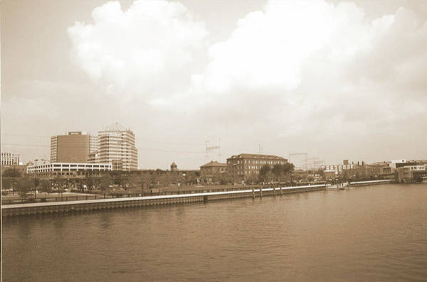 Photograph - Wilmington Riverfront Retro by Emery Graham