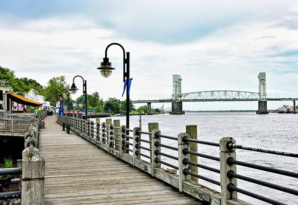 Wall Art - Photograph - Wilmington Riverwalk - North Carolina by Brendan Reals