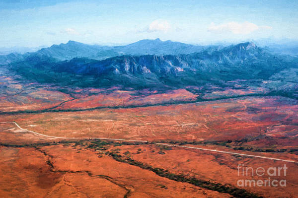 Photograph - Wilpena Pound  Eh by Ray Warren