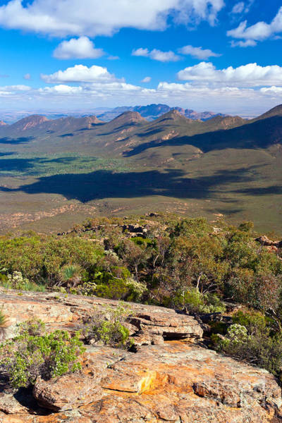 Wall Art - Photograph - Wilpena Pound With The Elder Range In The Background by Bill  Robinson