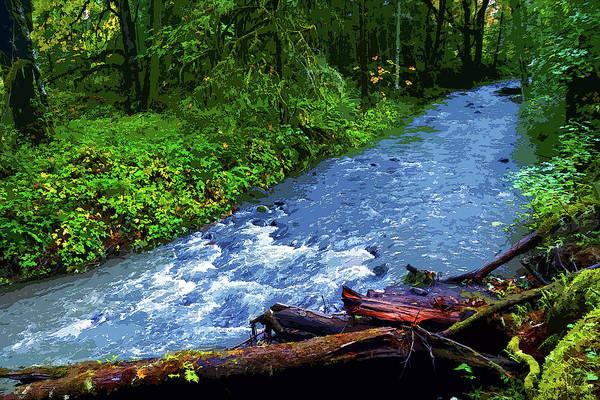 Photograph - Wilson Creek #1 by Ben Upham III