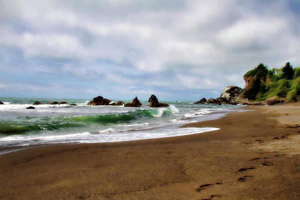Wall Art - Photograph - Wilson Creek Beach by Lana Trussell