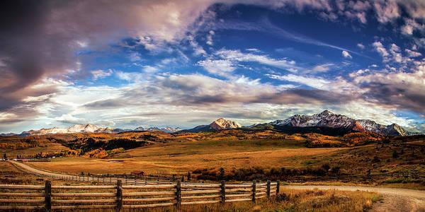 San Juan Mountains Photograph - Wilson Mesa At Autumn by Andrew Soundarajan