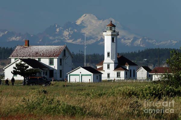 Mt. Wilson Photograph - Wilson Point Lighthouse by Rick Mann