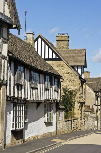 Yellow Brick Road Wall Art - Photograph - Winchcombe Houses by Tom Gowanlock