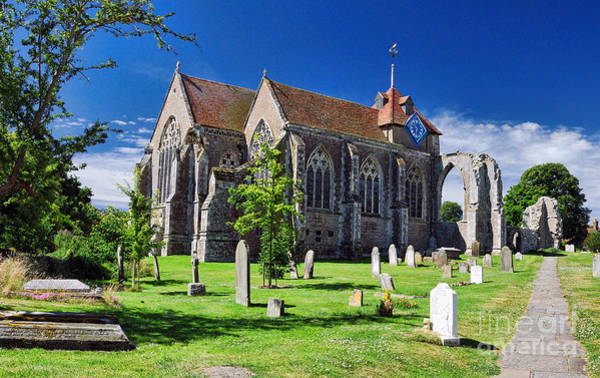 Winchelsea Church Art Print