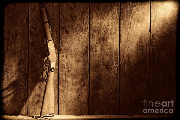 Photograph - Winchester by American West Legend By Olivier Le Queinec