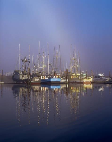 Photograph - Winchester Bay Fishing Boats by Robert Potts