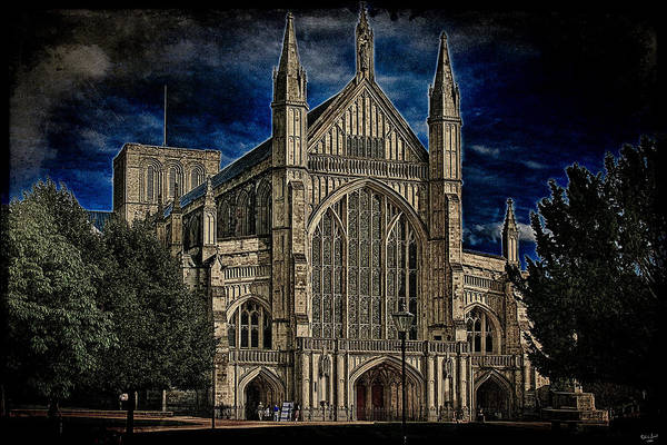 Photograph - Winchester Cathedral by Chris Lord