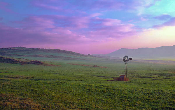 Photograph - Winchester Windmill Pano View by Paul Breitkreuz