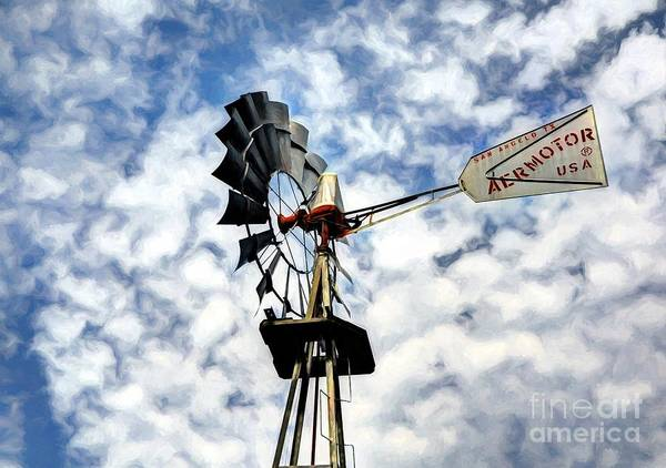 Photograph - Wind And Clouds by Mel Steinhauer