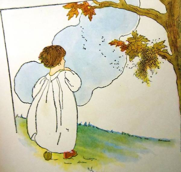 Mother Goose Drawing - Wind And The Willows by Lord Frederick Lyle Morris - Disabled Veteran