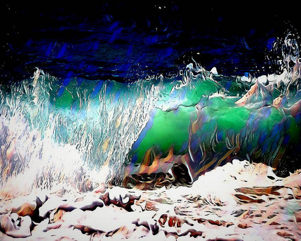 Digital Art - Wind And Waves by Pennie McCracken