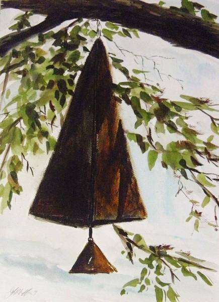 Wind Chime Painting - Wind Bell by John Williams