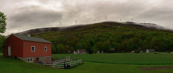 Photograph - Wind Farm - Hancock Mass by Kirkodd Photography Of New England