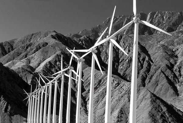 Photograph - Wind Generators by Jeff Phillippi