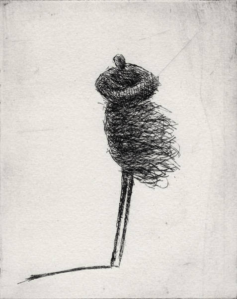 Wall Art - Drawing - Wind II by Valdas Misevicius