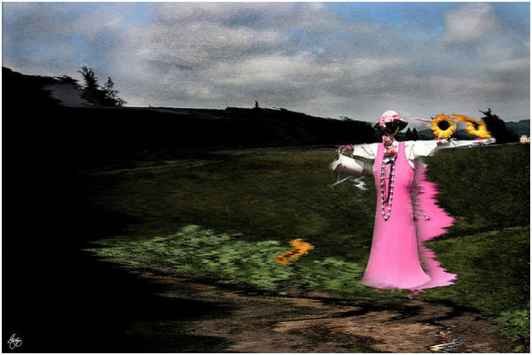 Photograph - Wind  In The Scarecrow by Wayne King