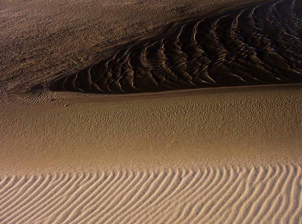 Photograph - Wind Light Water Sand by Robert Potts