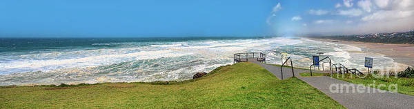 Wall Art - Photograph - Wind On The Surf Panorama By Kaye Menner by Kaye Menner