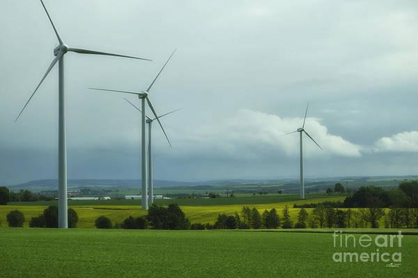 Photograph - Wind Power by Jutta Maria Pusl