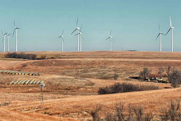 Photograph - Wind Power by Victor Culpepper