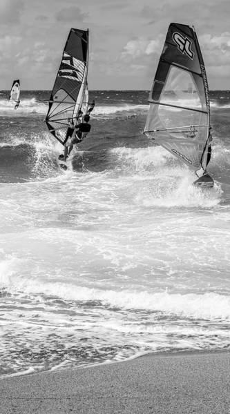 Wall Art - Photograph - Wind Surfers On Maui by Kelley King