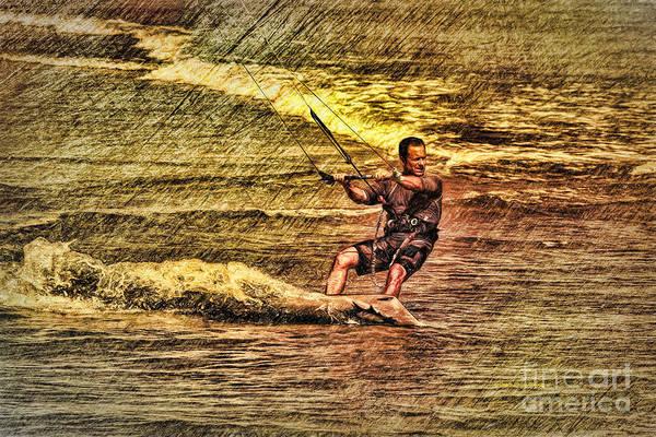 Painting - Wind Surfing by Deborah Benoit
