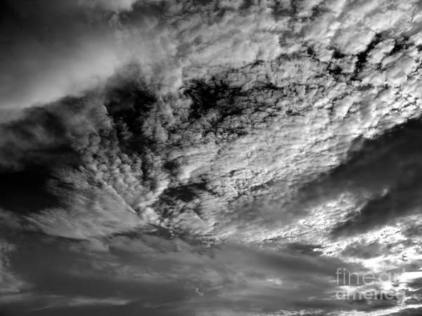 Wind Swept Sky Scape Art Print