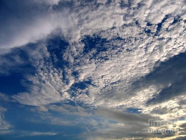 Wind Swept Sky Art Print