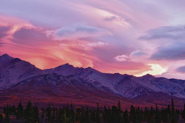 Photograph - Wind Swept Sunrise by Jeff Folger