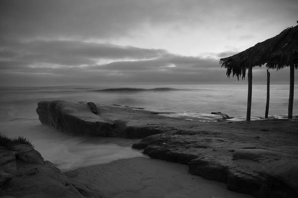 Wall Art - Photograph - Windansea Black And White by Kelly Wade