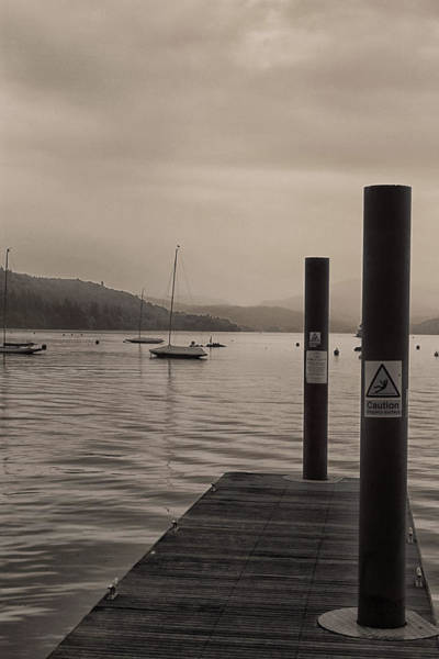 English Countryside Photograph - Windereme Jetty by Martin Newman