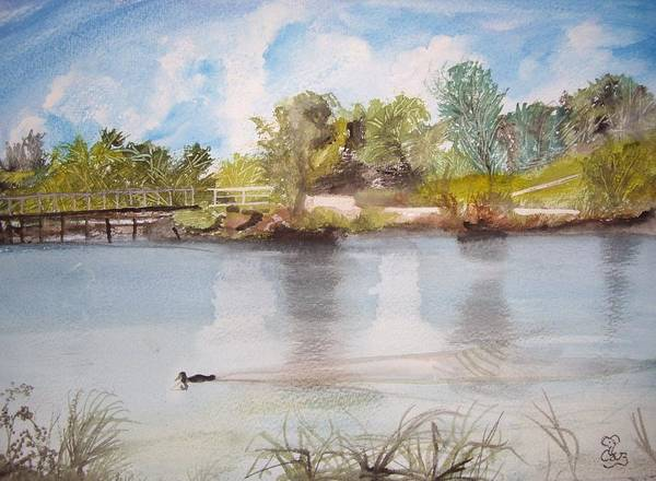 Windermere Painting - Windermere Australia by Carole Robins