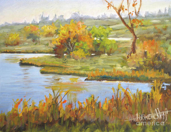 Windermere Painting - Windermere Pond by Mohamed Hirji