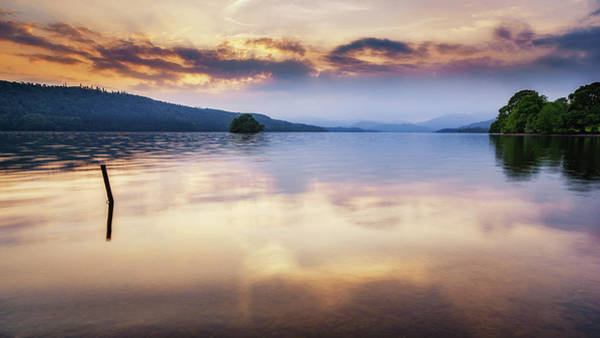 Photograph - Windermere Sunset by James Billings
