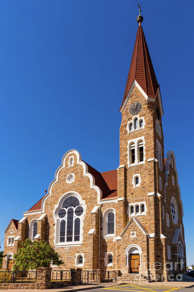 Wall Art - Photograph - Windhoek Christ Church by Inge Johnsson