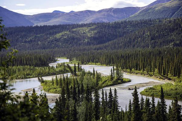 Wall Art - Photograph - Winding River In Alaska by Madeline Ellis