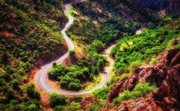 Photograph - Winding Road Ahead by Rick Furmanek