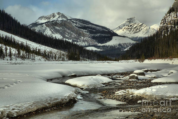 Photograph - Winding Through The Winter In Banff by Adam Jewell