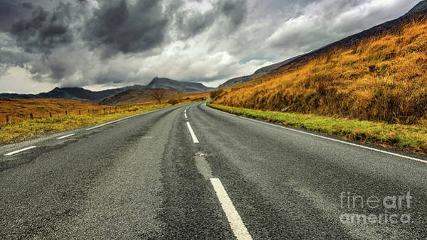 Photograph - Winding Welsh Road by Adrian Evans
