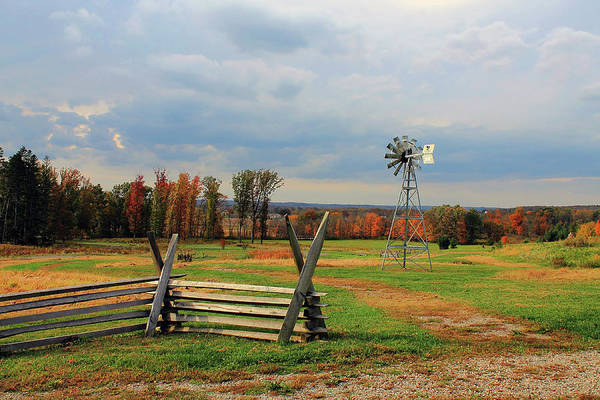 Photograph - Windmill by Angela Murdock