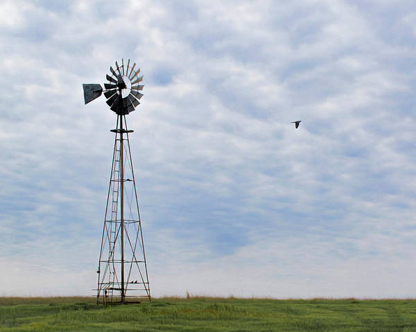 Photograph - Windmill Art -009 by Rob Graham