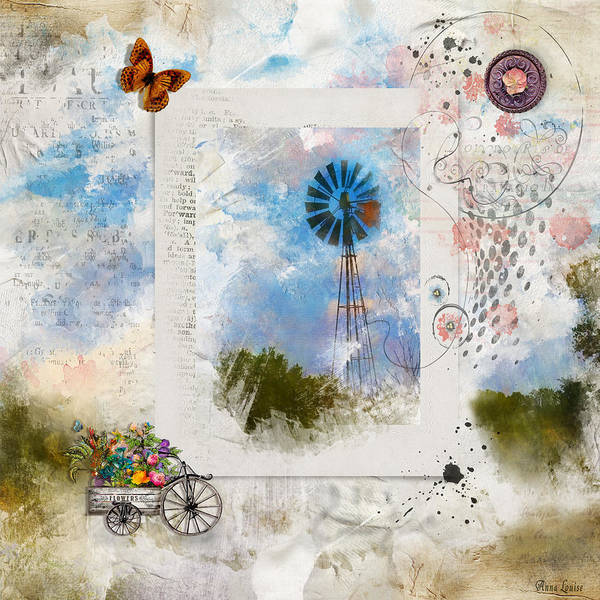 Photograph - Windmill Dreams by Anna Louise